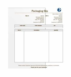 Packing Slip Templates 10 Payslip Template  Word Excel & Pdf Templates  Www .