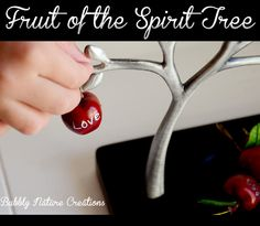 Fruit of the Spirit Tree.  A great tool to use for character development in children.
