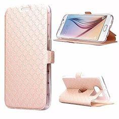 Mobile Samsung - Couleur unie/Design Spécial - Etuis du corps entier/Etui avec support - pour Samsung Samsung Galaxy S6 ( – EUR € 7.59