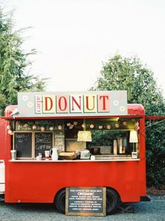 Carpe Donut Truck- their apple cider donuts & coffee service sounds delicious!
