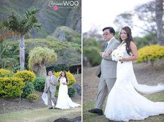 kualoa ranch in hawaii wedding photographer / annie + zac
