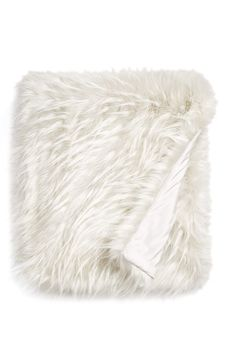 Nordstrom at Home Nordstrom at Home Cuddle Up Faux Fur Throw available at #Nordstrom