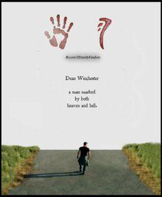 Dean Winchester a man marked