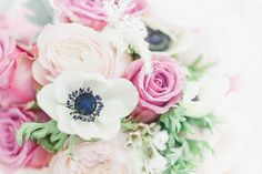 Flowers Bouquet Rose Anemone Brode Bridal Wax Astilbe Outdoorsy Nature Pretty…