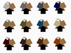 Three Neutral Colors - An Amazing Range of Possibilities
