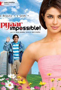 Pyaar Impossible Movie With English Subtitles Online. A romantic comedy in which a geek and the most sought-after college beauty are paired together by a twist of fate. And under all odds, an impossible love story begins. New Hindi Movie, Hindi Movies Online, Movies To Watch Online, Watch Movies, 2015 Movies, Hd Movies, Movies Free, Priyanka Chopra, Movie Z