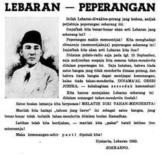 Soekarno dan Lebaran