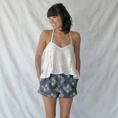 damen shorts gratis schnittmuster diy