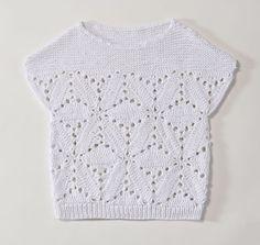 Pullunder häkeln - eine Anleitung Pull Crochet, Crochet Tank, Knitted Tank Top, Learn To Crochet, Knit Crochet, Summer Knitting, Textiles, Crochet Clothes, Lana