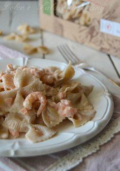 ricetta Farfalle con salmone e gamberetti | Dolce e Salato di Miky