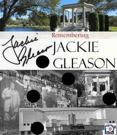 LEGEND'S HOUSE FOR SALE!  Jackie Gleason's 14-room South Florida home is for sale... and you won't believe the price!  It's a steal!  Take a look inside and see how NOTHING has changed!