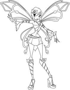 Image Result For Winx Club Bloomix Coloring Pages