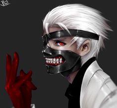 King | One eyed King | :re | White Suits | Ken  Kaneki Fan Ary | Tokyo Ghoul Fan Art | Tokyo Ghoul :re Fan Art