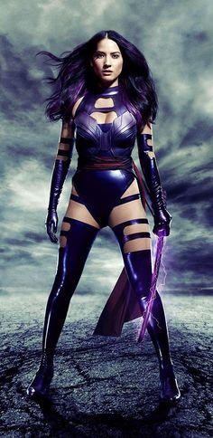 Olivia Munn as Betsy Braddock/Psylocke in X-Men: Apocalypse Olivia Munn, Xmen Apocalypse, Psylocke, Hugh Jackman, Black Widow, Wolverine, Comic Wallpaper, Asian Wallpaper, Gi Joe