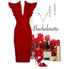 The Bachelorette by patricia-dimmick on Polyvore featuring moda, Paris Hilton, ABS by Allen Schwartz, Bling Jewelry, Estée Lauder, Le Labo, reddress and thebachelorette