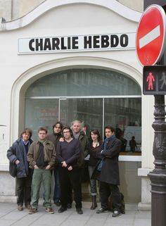 """A drawing has never killed anyone,"" Charlie Hebdo's editor in chief said in 2012."