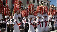 Centro of the universe: Portugal's mysteriously overlooked middle | Via CNN Travel | 9/04/2015 Portugal is more than its bustling capital and surfer-ready coasts. Its central regions -- like the town of Obidos -- are rich with activity. Photo: The six-day Festas dos Tabuleiros festival takes place every four years -- the next one is July 2015 -- and attracts upward of 600,000 visitors. The elaborate headdresses worn by local girls are loaves of bread decorated with flowers.