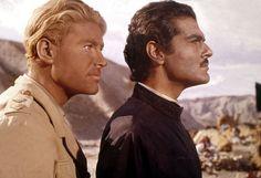 "Omar Sharif Lawrence of Arabia   Peter O'Toole, left, and Omar Sharif, right, in ""Lawrence of Arabia."""