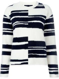 Купить Proenza Schouler полосатый джемпер в Julian Fashion from the world's best independent boutiques at farfetch.com. 400 бутиков, 1 адрес. .