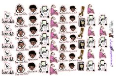 MEET AUDREY: Salon haircare wax stickers