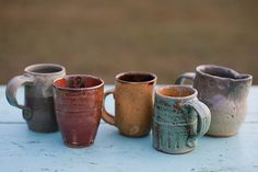 i want a potter's wheel and kiln to make my own coffee cups!!! and other things :)