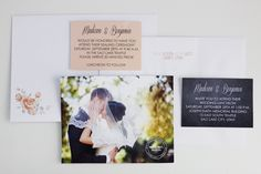 Wedding invitations with couples pictures!