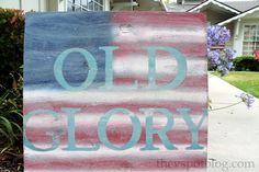 Patriotic Flag Artwork - Old Glory