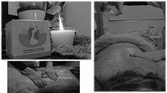Velas de massagem