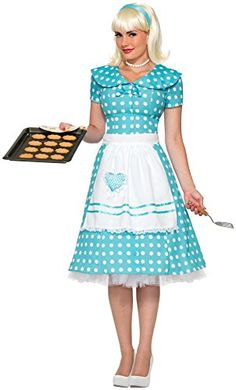 Forum Novelties Womenu0027s 50u0027s Housewife Costume Blue X-Small/Small Forum Novelties  sc 1 st  Pinterest & 1900s 1910s WW1 Titanic Costumes | Costumes Woman costumes and ...