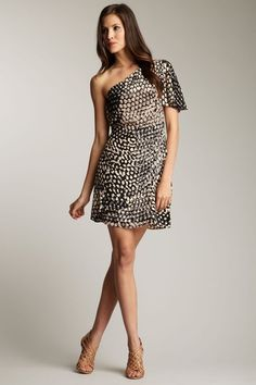 frock! by Tracy Reese  Ginger One Shoulder Dress