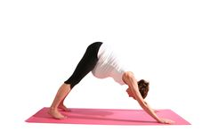 Downward Facing Dog is a lovely stretch for easing out stiffness in the back of your legs and stretching out your back and shoulders. Click here for yoga pose details!