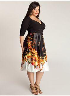 Valentina Plus Size Dress