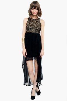 Mirrored Bodice Dress ~ TOBI