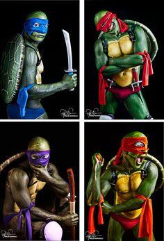 Teenage Mutant Ninja Turtles Color Comic 4  Pack by philipbonneau, $200.00