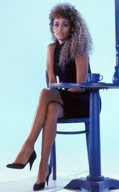Whitney Houston. I will always remember you like this and I will always love you.