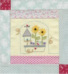 6.The Girls Own Stitching Club- Birdhouse Sampler. - Red Brolly