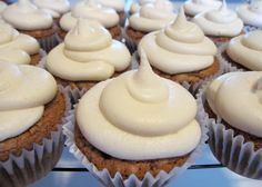 Irish Cream Gourmet Cupcakes with Coffee Frosting~Only available for the month of March! Mmmmmm