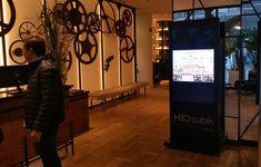 H10 Cubik. Totem digital Square Marketing, Portfolio, Poster, Desk, Digital, Furniture, Home Decor, Steel Structure, Flooring
