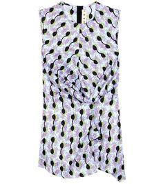 MARNI Printed Silk Top. #marni #cloth #tops