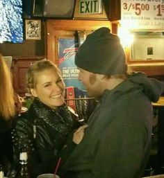 Dean and Renee. She has a beautiful smile.