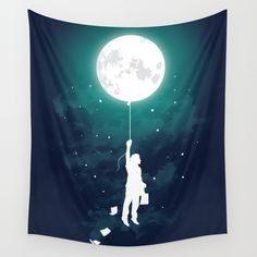 Burn the midnight oil  Wall Tapestry