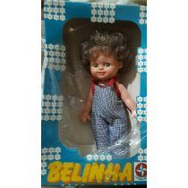 Raro016 - Boneca Antiga Belinha Estrela