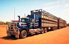 Photo by ROGER EVANS | by wob2007 Kenworth Trucks, Mack Trucks, Big Rig Trucks, Semi Trucks, Old Trucks, Train Truck, Road Train, Trucks And Girls, Heavy Equipment