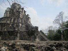 Muyil (Aka Chunyaxché), a site of Mayan ruins on the Yucatan Peninsula in Mexico