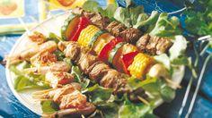 Grillivartaat Cobb Salad, Tacos, Beef, Ethnic Recipes, Food, Drinks, Meat, Drinking, Beverages