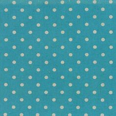 Linen Mochi Dot in Turquoise by Momo for Moda Fabric by Owlanddrum, $6.49