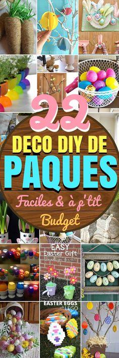 22 DECO DIY DE PÂQUES, FACILES ET PAS CHERS A FAIRE !