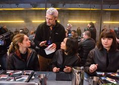 "The Dauntless dining room was actually an indoor swimming pool. | 10 Things We Learned About The Making Of ""Divergent"""