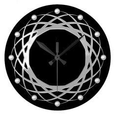 Round Geo Clock