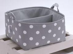 LG 10x10x6 Diaper Caddy  Storage Bin Basket by TheStorageLoft, $40.00